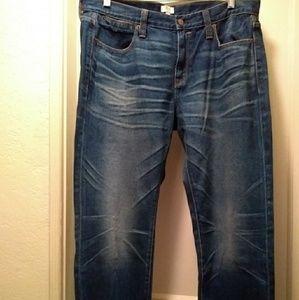 31 x 30 J. Crew boyfriend jeans field wash